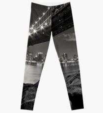 Sleepless Nights And City Lights Leggings