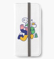Friendly Hiker iPhone Wallet/Case/Skin