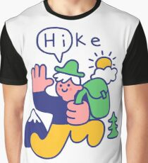 Friendly Hiker Graphic T-Shirt