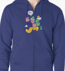 Friendly Hiker Zipped Hoodie