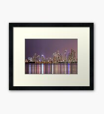 A Thousand Lights In The City Framed Print