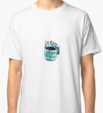 Encouraging Coffee Cup Classic T-Shirt