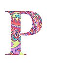 The Letter P - Lily Style by MarcoD