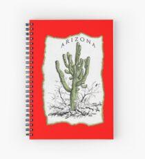 Giant Saguaro ARIZONA tee Spiral Notebook