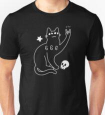 Metal Cat Slim Fit T-Shirt