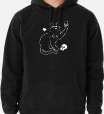 Metal Cat Pullover Hoodie