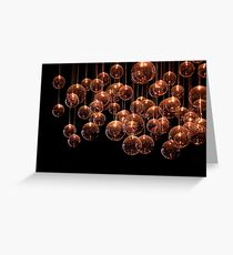 Symphony in the Dark Greeting Card