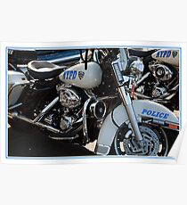 POLICE MOTORCYCLE Poster