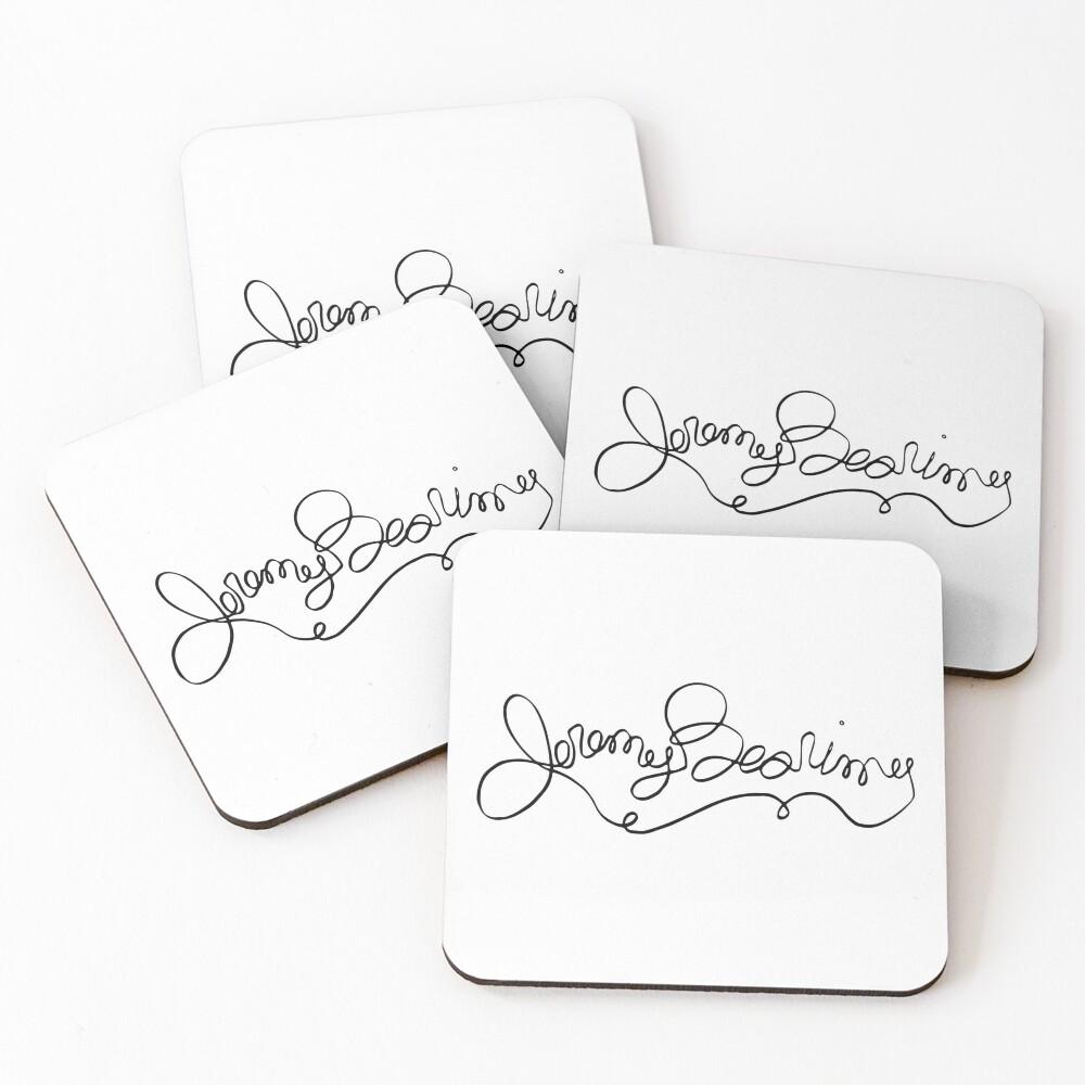 The Good Place® - Jeremy Bearimy Timeline Coasters (Set of 4)