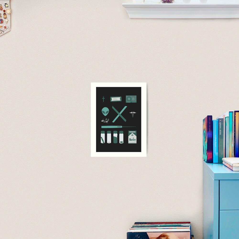 X-Files  Art Print