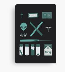 X-Files  Canvas Print