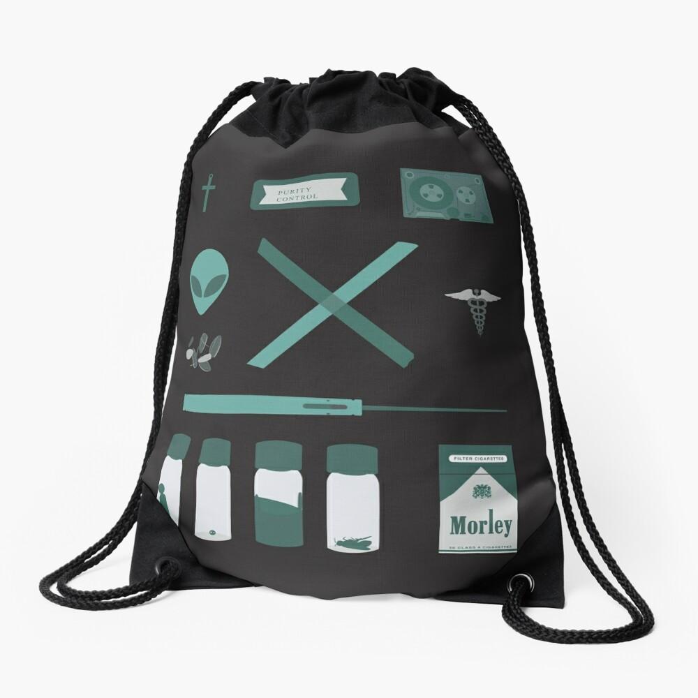 X-Files  Drawstring Bag
