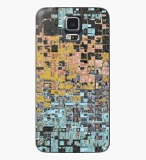 Chaos of Squares Pattern Case/Skin for Samsung Galaxy