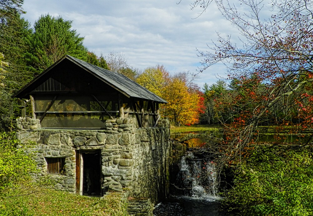The Forgotten Grist Mill`~Building 2 by Pamela Phelps