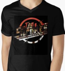 The Strokes Band/Logo Mens V-Neck T-Shirt