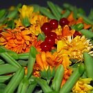 Friendly Summer Mix - Red Currant, Beans & Marigold by vbk70