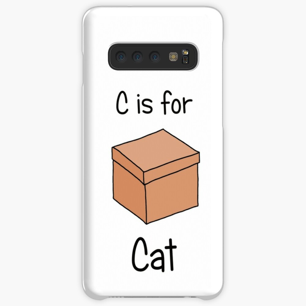 C is for Cat Case & Skin for Samsung Galaxy