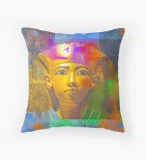 Young Boy King Throw Pillow