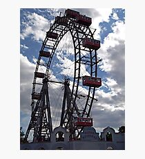Wiener Riesenrad - Ferris Wheel Photographic Print