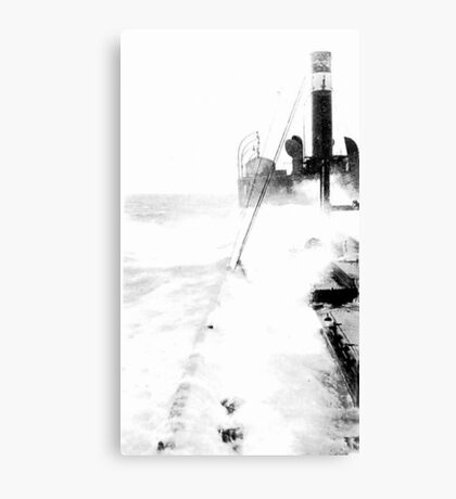 In The North Sea (2) Canvas Print