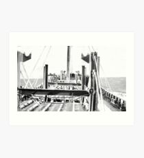 In The North Atlantic (2) Art Print