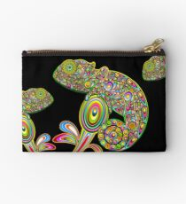 Chameleon Psychedelic Zipper Pouch