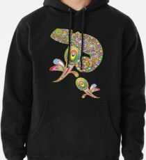 Chameleon Psychedelic Pullover Hoodie