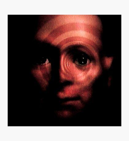Horror Spinning Around Hugo Photographic Print