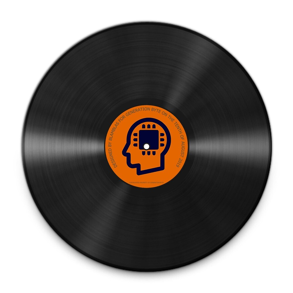 Generation Byte Vinyl Cover by GenerationByte