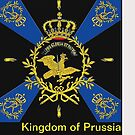 Prussian eagle..Regimental Battle Flag, era 1757 by edsimoneit
