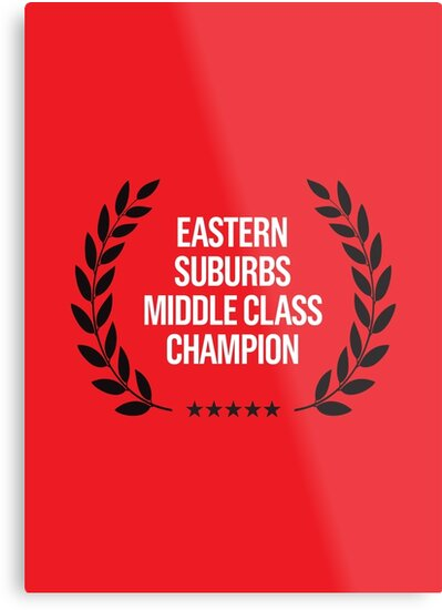 EASTERN SUBURBS MIDDLE CLASS CHAMPION by Steve Leadbeater