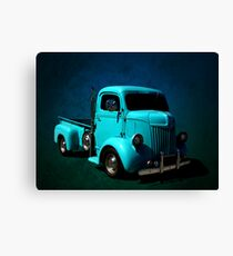 1942 Ford Cab Over Custom One Ton Pickup Canvas Print