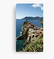 """Monterosso"" Canvas Print"