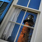 Reflected Lighthouse by Gina Mercieri