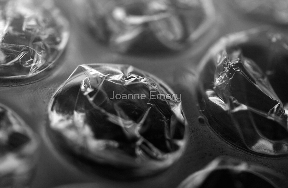Close up of bubble wrap by Joanne Emery