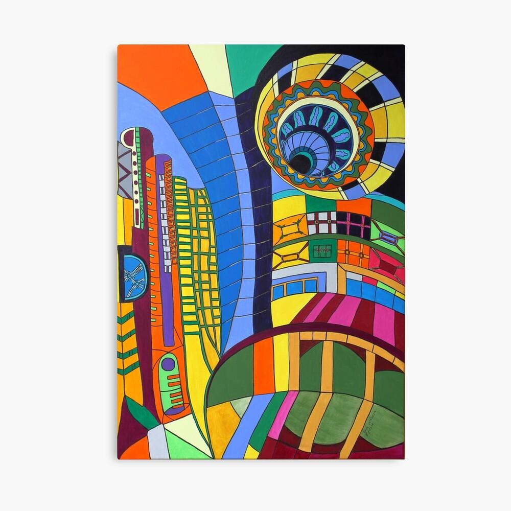 Caligari I - Fort Lauderdale Leinwanddruck