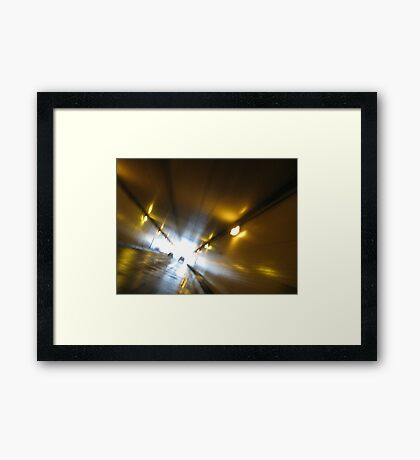 loving you will take me there Framed Print