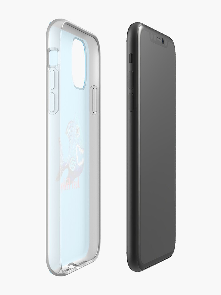 coque apple rouge iphone 7 , Coque iPhone « Juste Fishy 2 », par JLHDesign