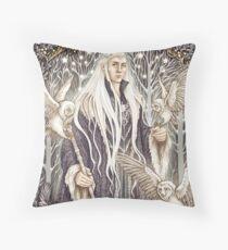 Elven King Throw Pillow