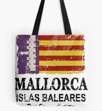 Majorca Flag - Vintage Look Tote Bag