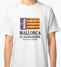 Majorca Flag - Vintage Look Classic T-Shirt