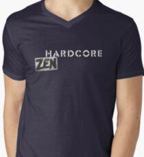Hardcore Zen Logo Only T-Shirt or Hoodie Men's V-Neck T-Shirt