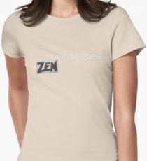 Hardcore Zen Logo Only T-Shirt or Hoodie Women's Fitted T-Shirt