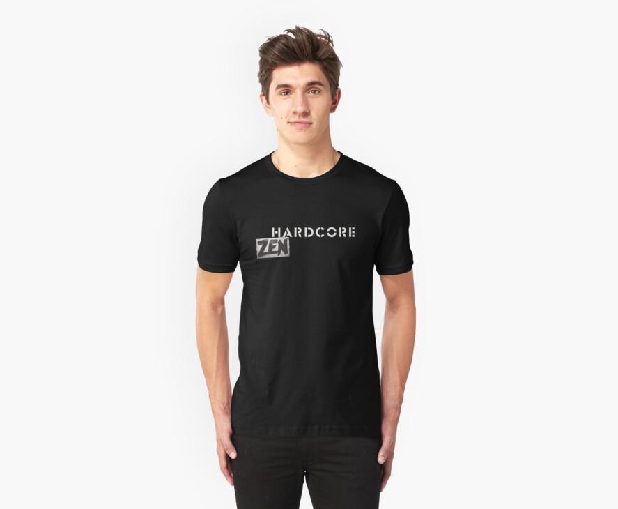 Hardcore Zen Logo Only T-Shirt or Hoodie by Brad Warner