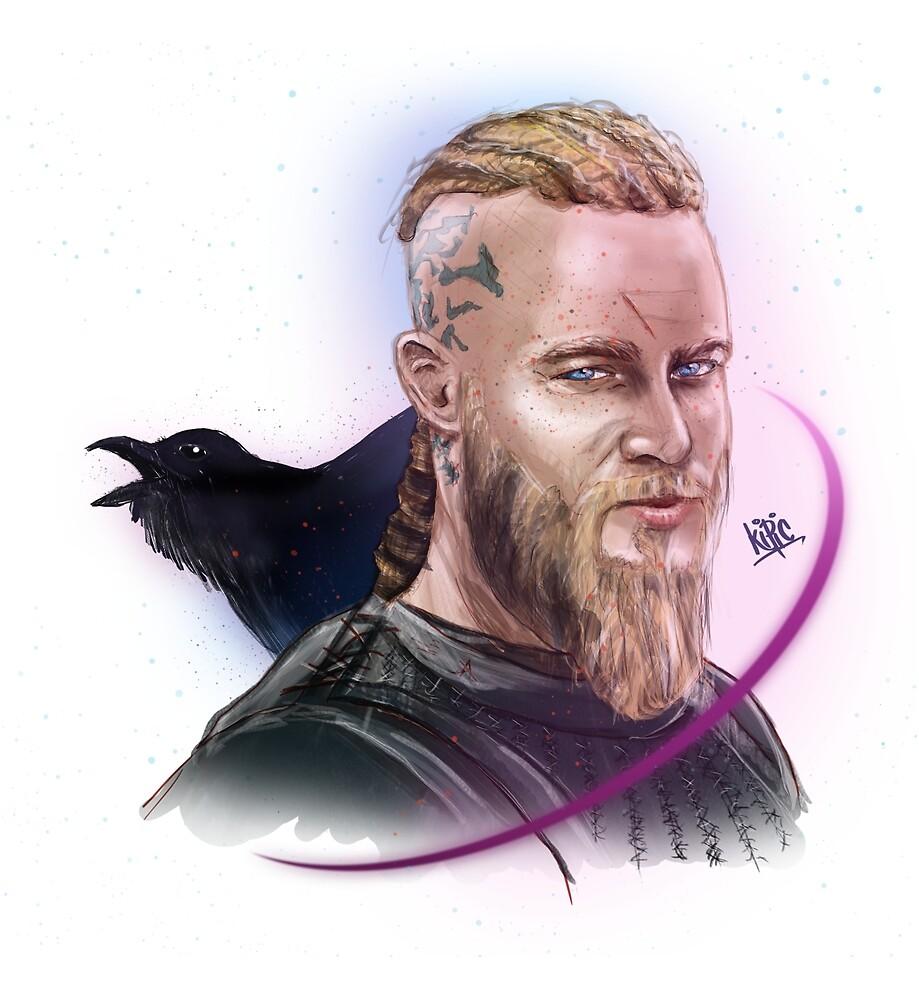 Ragnar Lothbrok by kipic