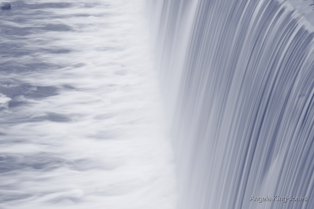 Rum River Dam by Angela King-Jones