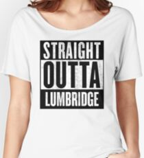 Straight Outta Lumbridge Women's Relaxed Fit T-Shirt