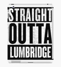 Straight Outta Lumbridge iPad Case/Skin