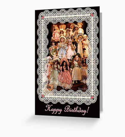 So Many Dolls! A Birthday Greeting Greeting Card