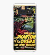 Vintage horror prints - Phantom Of the Opera Movie Poster Case/Skin for Samsung Galaxy